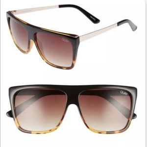QUAY X Desi Perkins OTL II Tort/Brown Sunglasses